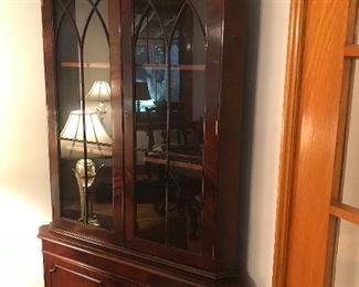 Beautiful corner cabinet/display unit