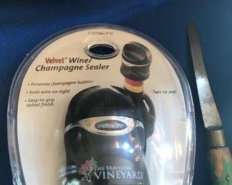 Champagne/wine sealer