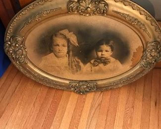 """""""Bubble frame"""" vintage picture"""
