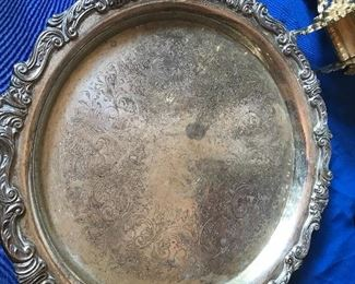 Silver plated item