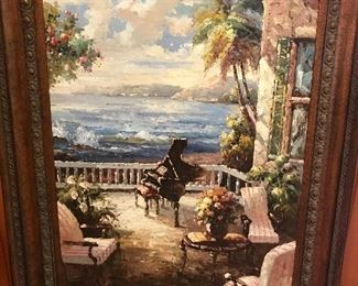 Absolutely stunning oil picture (LARGE)