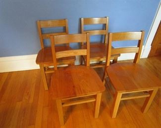 Oak Youth Chairs - $10 Each