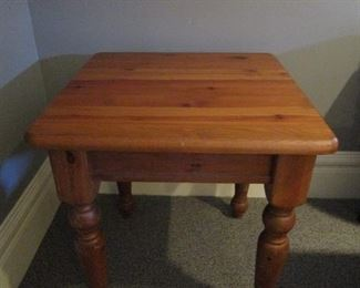 Square Side Table (2 available) - $20 Each