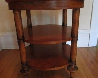 Round End Table - $75