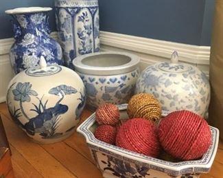 Blue/White Ceramics