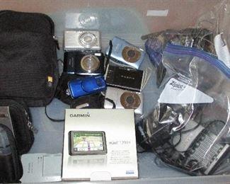 Cameras and Garmin GPS