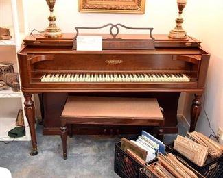 1947 Chickering Square Grand Piano