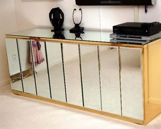 mirrored credenza - mid century glam by Ello
