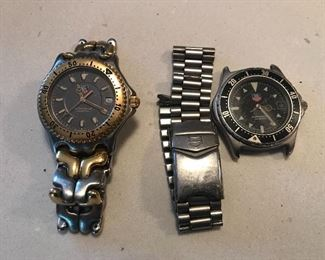 More Tag watches