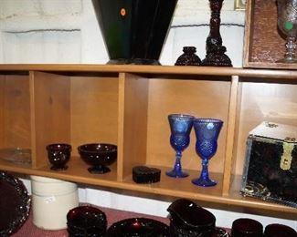 decor and glassware
