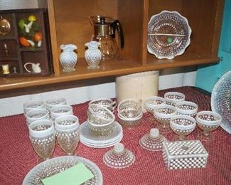 hobnail dishes