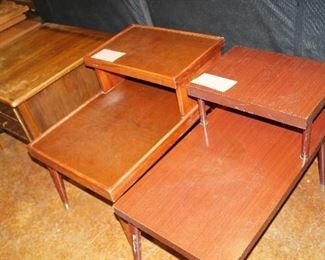 step tables. TV cabinet