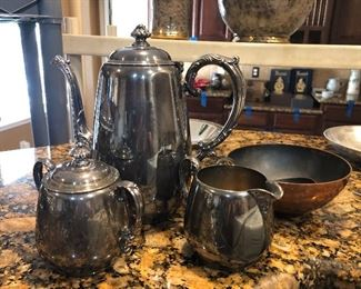 vintage tea/coffee set