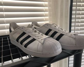 Addidas  super -size 11- have many quality tennis shoes -,most size 11 mens  have these in green and white also