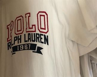 polo -ralph Lauren ,lots of tees for men- nike- underarmour -more