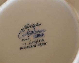 vintage noritake -linfield set  -rare find on this pattern