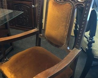 chair from vintage dining room set