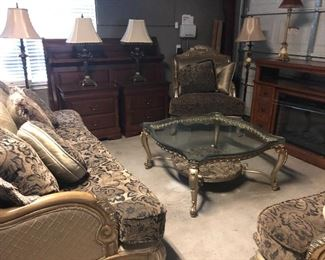 sofa -loveseat -chair- are sold as set