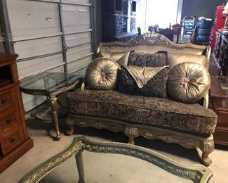 part of  sofa /loveseat set