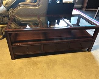 bassett brand coffee table