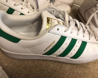 superstars - have green and white and pair of black and white