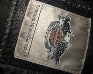 leather harley davidson  jackets -purses -1 backpack,  other leather items and furs-mink items  funky stuff  not  new