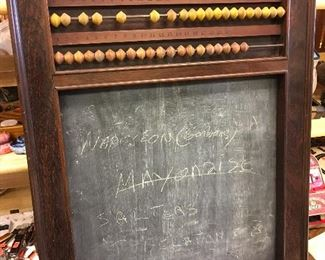 antique chalkboard