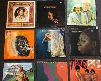 assorted LPs