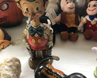 Vintage Tin Pinocchio