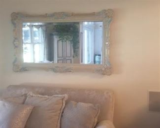 wall mirror to match living room set