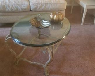 coffee table to match in formal living room