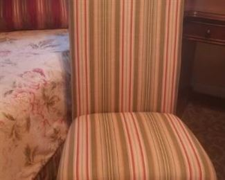 chair to match bedding