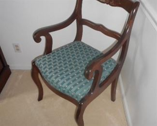 Arm chair with Dining room table