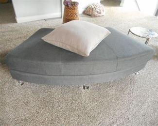 ottoman to the sectional sofa