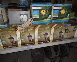 new stock outdoor  lighting