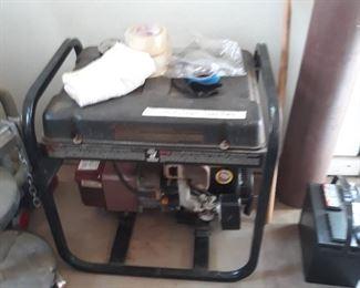 As is generator,  needs work on the carburator