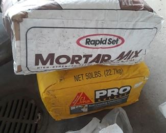 Mortar mix , and floor leveling mix