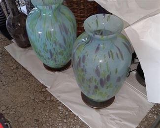 Murano glass, large vase
