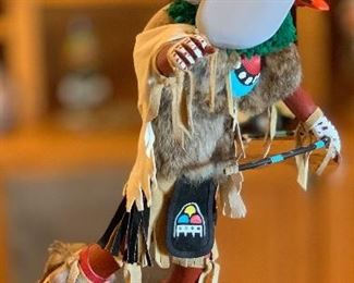 25in Kachina Hornet C.C. Tewia Hopi Native American	25in