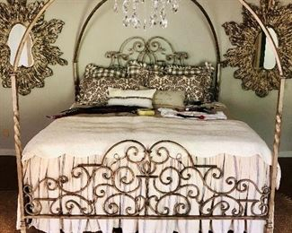 Mirrors & bedding linens are not for sale