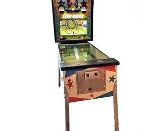Lot 001  1972 Line Drive Pinball Machine