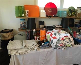Bedding & Miscellaneous Household Items