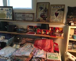More Wine Decor & Children's Books