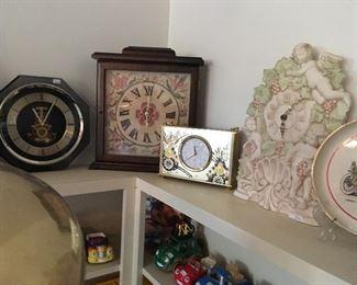 More Clock Collection Including Seiko CLocks