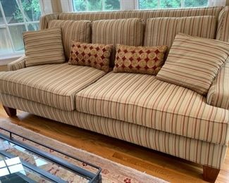 "3. High Back Sofa (86"" x 42"" x 40"")"