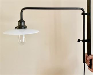67. Restoration Hardware Edison Wall Mount Lamp