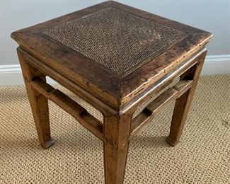 "71. Asian Side Table (17"" x 17"" x 20"")"