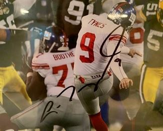 111. New York Giants Signed Lawrence Tynes Jan 20, 2008