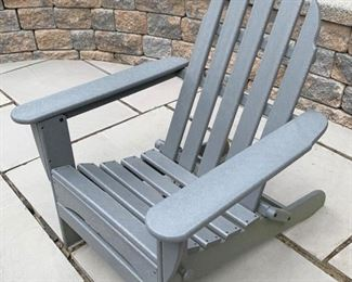 131. 4 Polywood Resin Adirondack Chairs