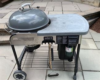 132. Weber Charcoal Grill